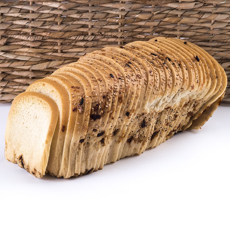 Great Low Carb Thin Sliced Everything Bread 16oz Loaf