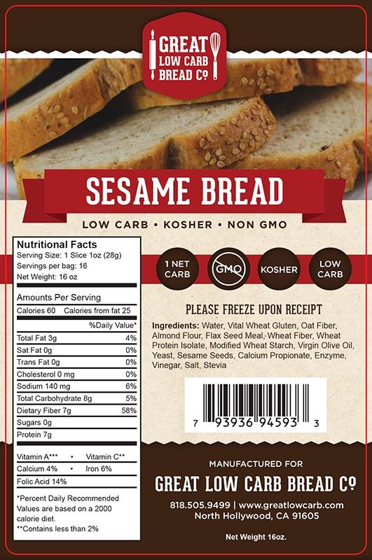 lo carb bread company