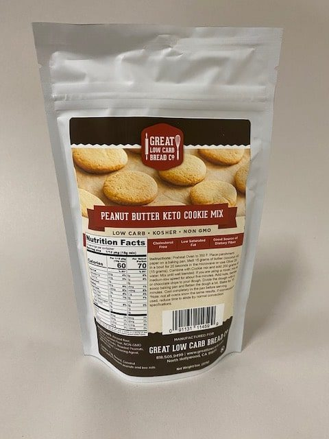Great Low Carb Keto Peanut Butter Cookie Mix 8 Oz